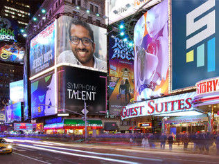 Symphony Talent CEO, Roopesh Nair