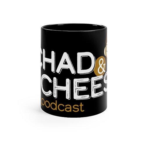 The Chad & Cheese Mug 11oz (black)