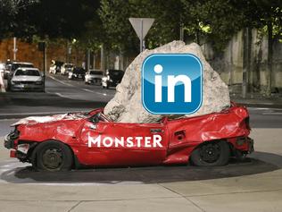 LinkedIn Crushes Monster
