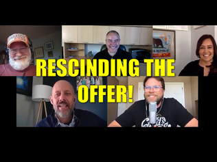 Are You Rescinding The Offer?
