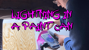 Lightning in a Paint Can