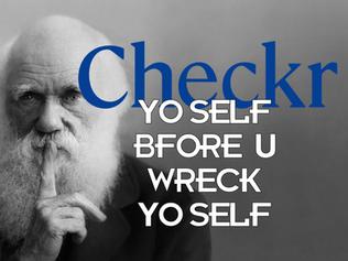 Checkr Yo Self B4 U Wreck Yo Self