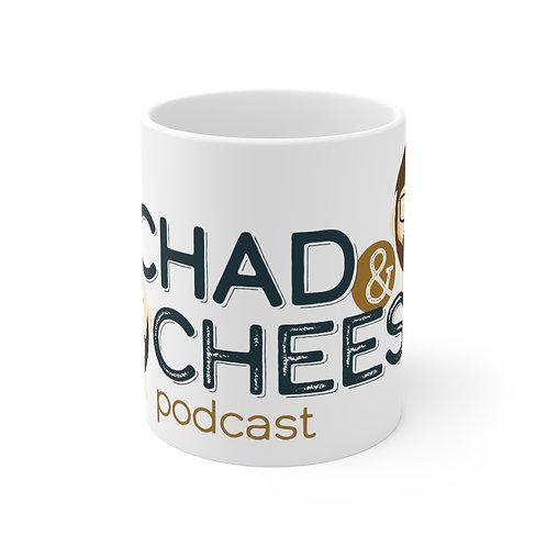 The Chad & Cheese Mug 11oz (white)