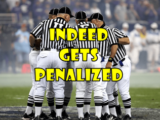 Indeed Gets Penalized