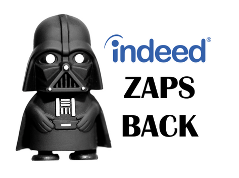 Indeed Zaps Back!