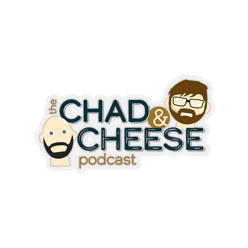 The Chad & Cheese Laptop Stickers