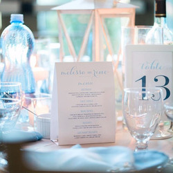 Tent and Table Number Cards