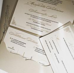 Wedding Pocket Invitation