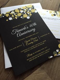Anniversary Invite