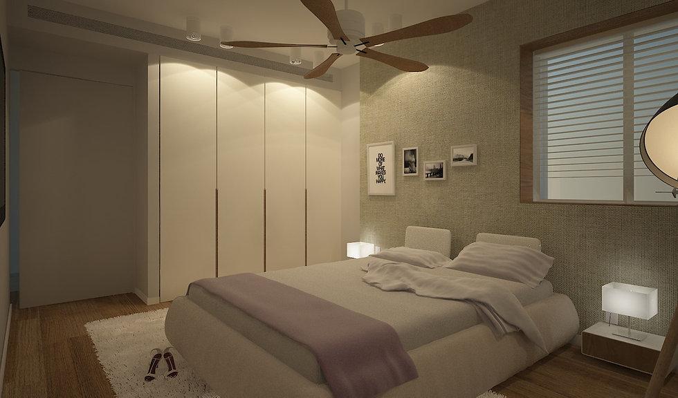 פנטהאוז באזורי חן  חדר שינה
