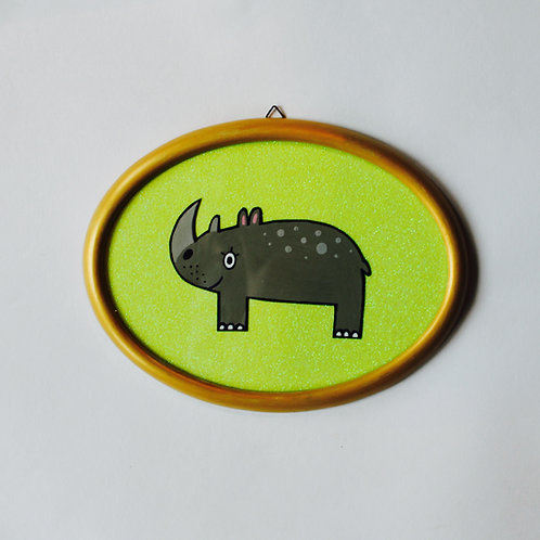 RHINO GLITTER YELLOW