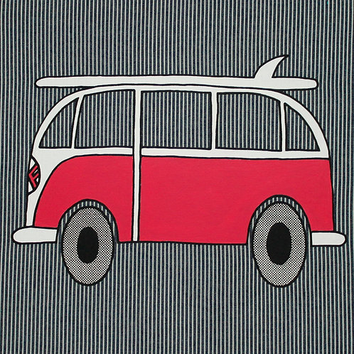 VW BUS OSHKOSH DARK BLUE