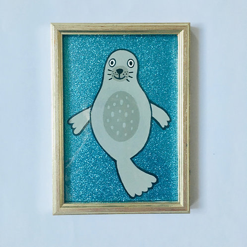 SEAL GLITTER BLUE