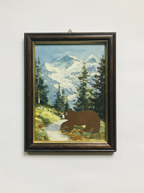 GRIZZLY INTO THE ROCKIES