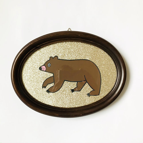 GRIZZLY GLITTER GOLD
