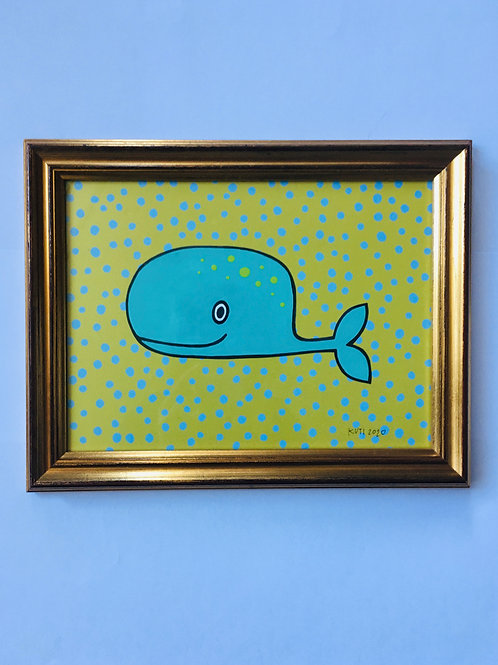 WHALE TURQUOISE/GREEN