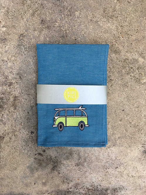 KITCHEN TOWEL BLUE/GREEN