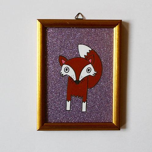 FOX GLITTER PURPLE