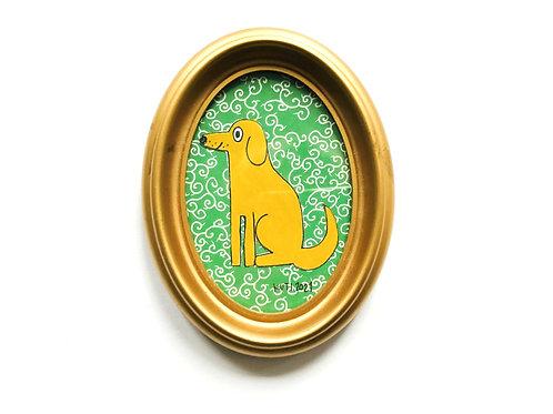 DOG VINTAGE GREEN