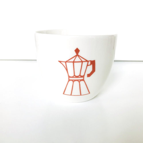 ESPRESSO CUP RED