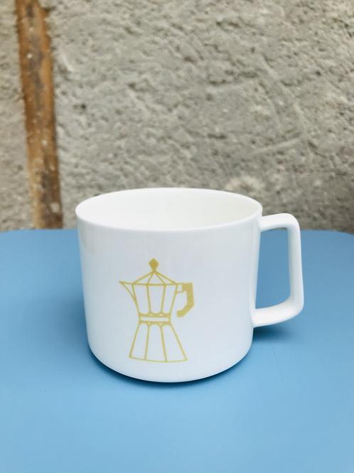BIG CUP ESPRESSOPOT YELLOW