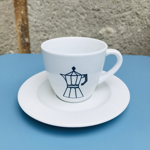 COFFEECUP ESPRESSOPOT NAVY BLUE