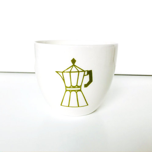 COFFEE CUP OLIVE