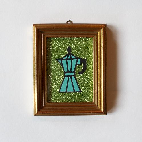 ESPRESSOPOT GLITTER GREEN