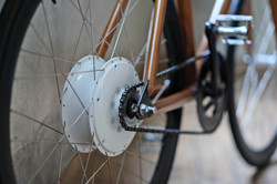 Woodencycle Electric with Flykly