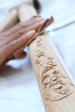 Woodencycle Sanding