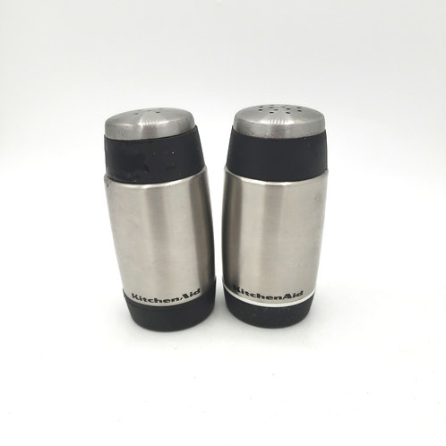 KitchenAid Salt and Pepper Stainless Steel Shakers