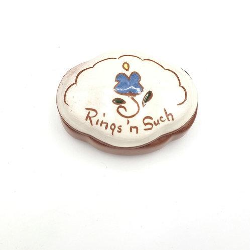 Vintage Ceramic Rings n' such