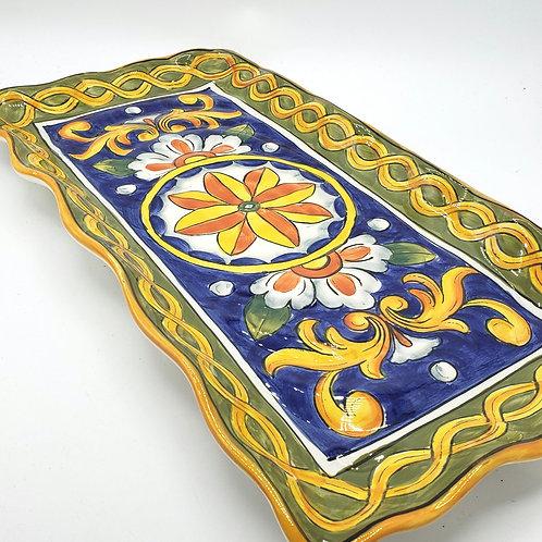 "Maxcera Ceramic Platter 9"" x 17"""