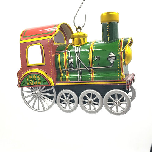 Vintage 1985 Hallmark Choo-choo Train Ornament