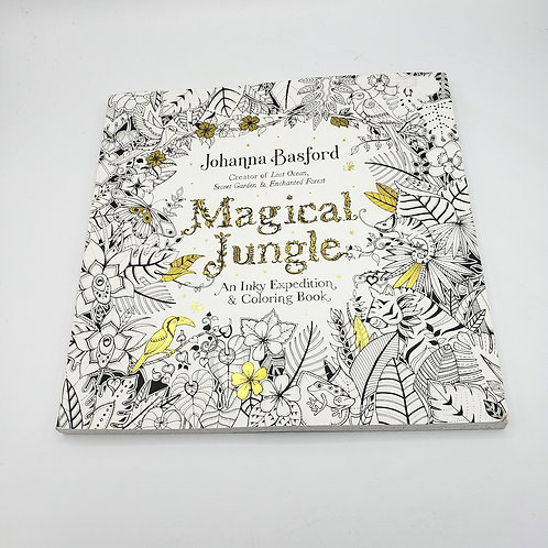 Johanna Basford Magical Jungle Coloring Book