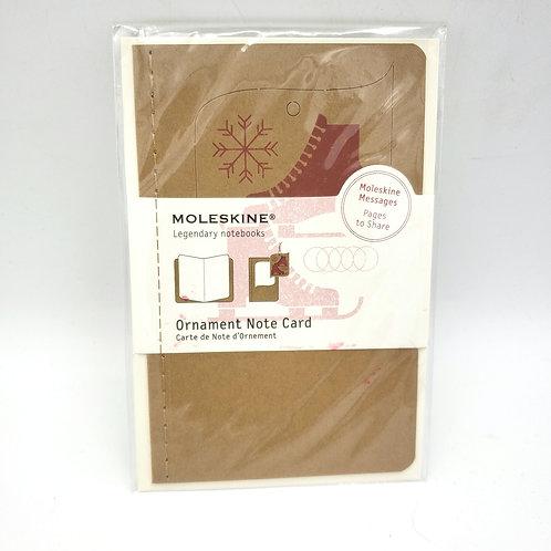 Moleskine Ornament Note Card