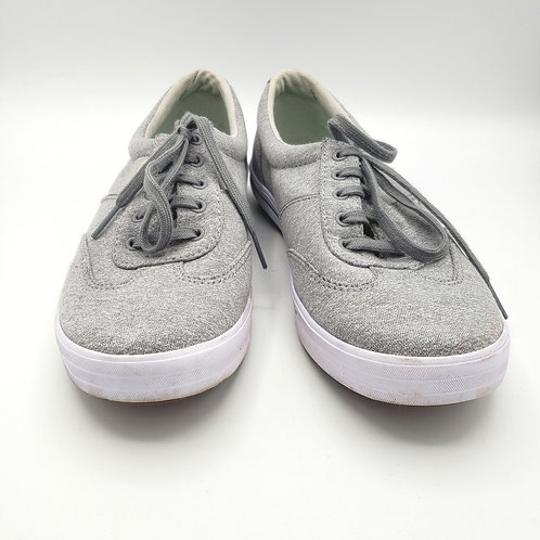 Ked's Gray Lace Up Sneaker - size 8