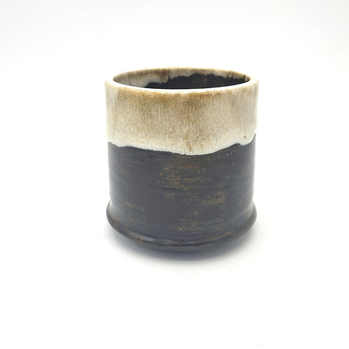 Handmade Pottery Mug Signed Small