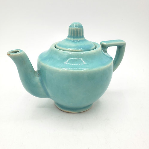 Vintage Single Cup Ceramic Teapot USA(small chip at spout)