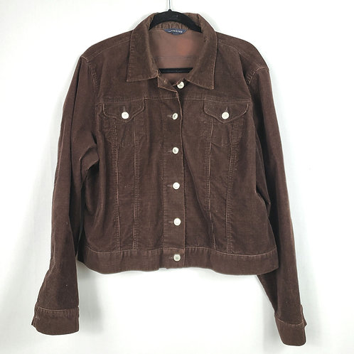 Land's End Brown Corduroy Jacket - XL