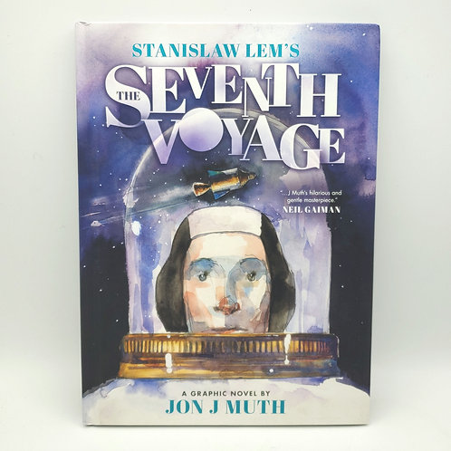 The Seventh Voyage: Star Diaries by Stanislaw Lem Hardcover 8-12 Years