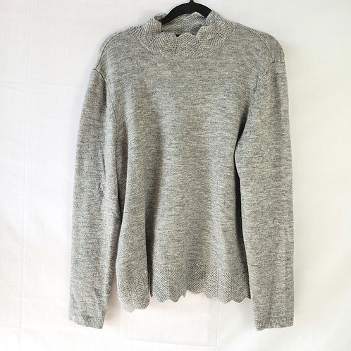 Liz Claiborne Career Gray Sweater - XL