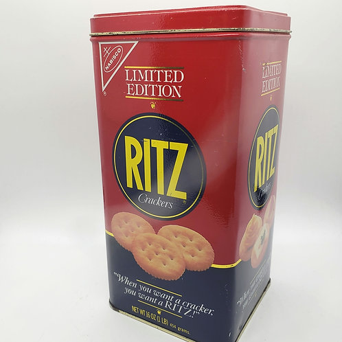 1987 Limited Edition, Ritz Crackers Tin, Nabisco