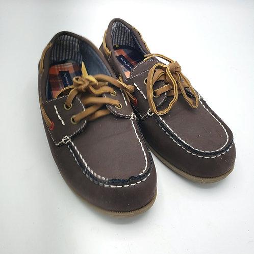 Kids 3 Tommy Hillfiger Tyson Boat Shoes