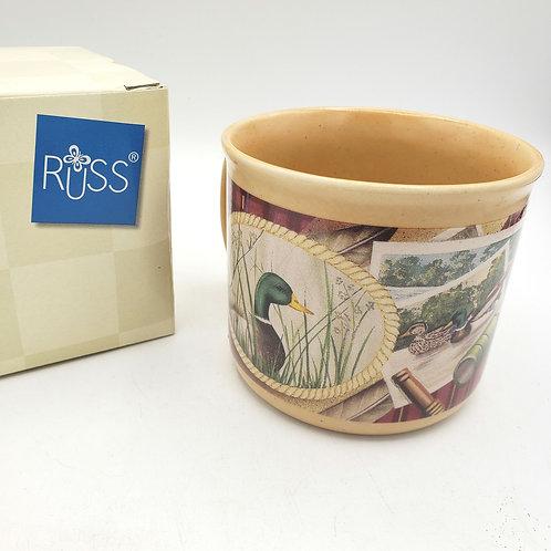 Vintage Russ Duck Mug