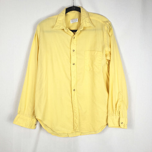 Vintage Viyella Butter Yellow Shirt - approx M
