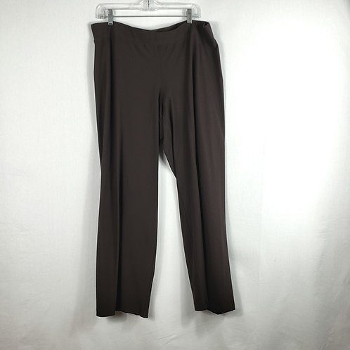 Eileen Fisher Brown Pants - XL