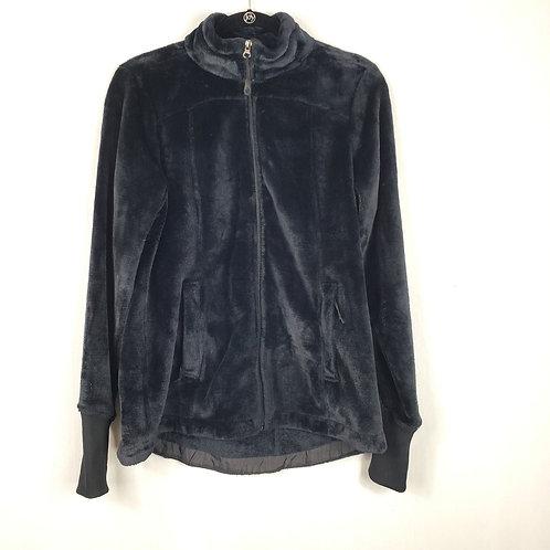 Jockey Cozy Black Fleece Zip Jacket - M