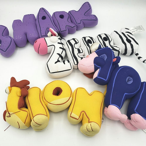 Word World Magnetic Plush Toys