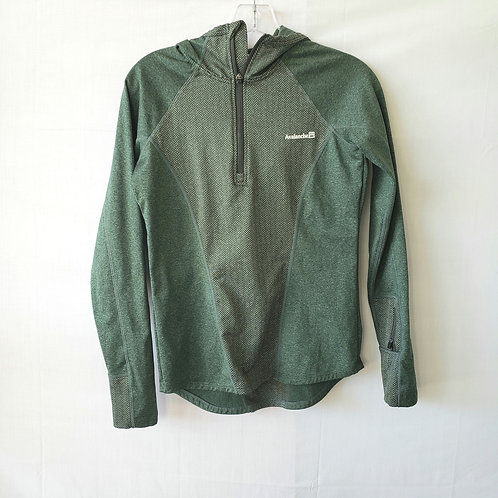 Avalanche Green Hooded Pull Over - S